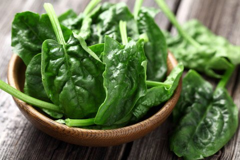 One Bowl Spinach - 480x320